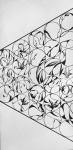 Foliage Kaleidoscope, ~12 x 24 ink on paper