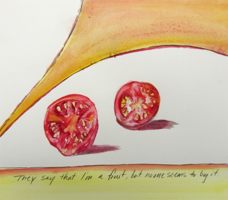 Day 26 (5/24/12): They Say I'm a Fruit