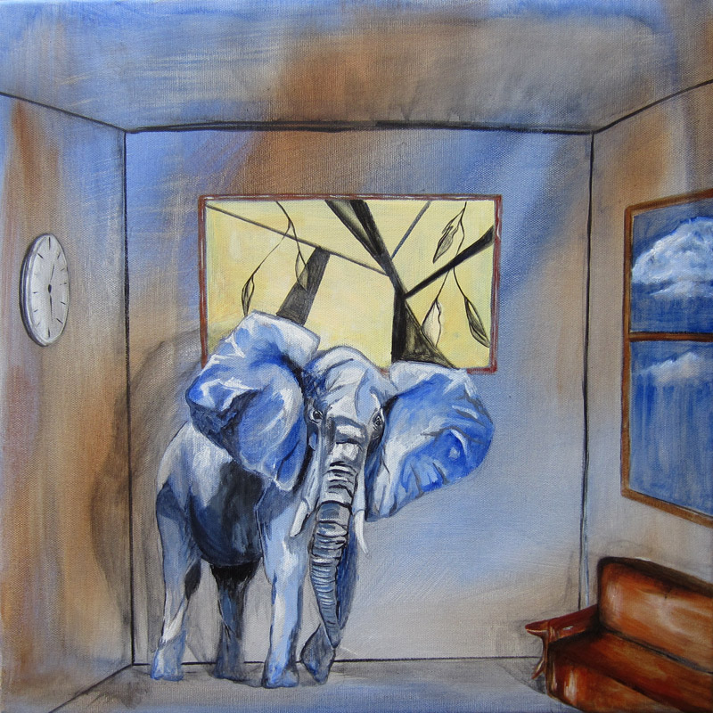 Day 87 (7/24/12): Elephant in the Room