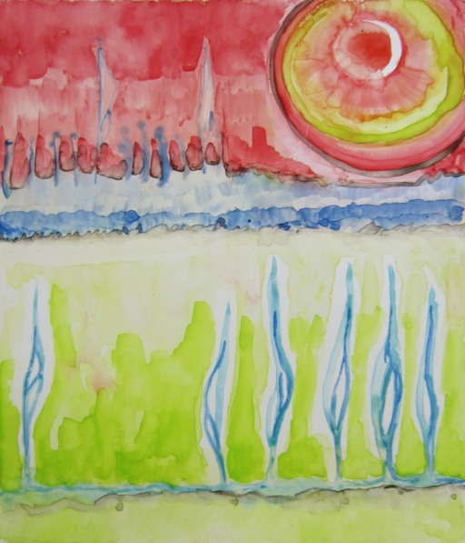 Day 90 (7/27/12): Landscape Abstracted