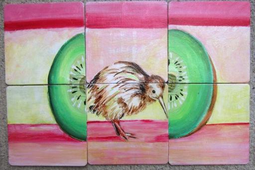 Day 100 (8/6/12): Kiwis (mixed)