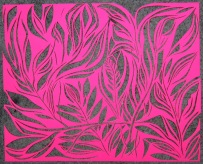 Day 101 (8/7/12): Fluorescent Paper Cut 2