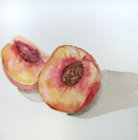 Day 122 (8/28/12): What a Peach