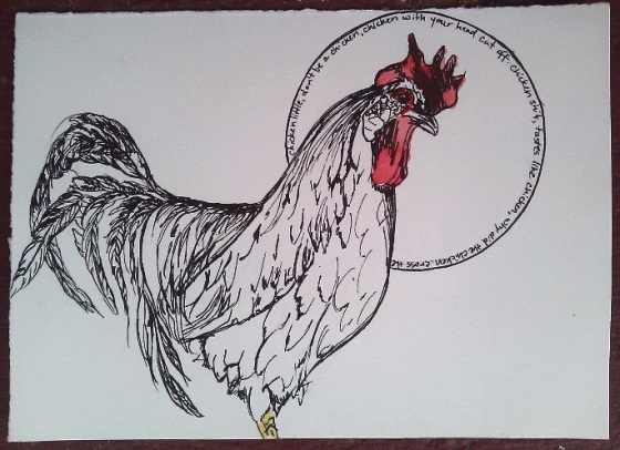 Day 94 (7/31/12): Colloquial Uses of the Word Chicken