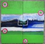 Day 99 Stamp Seperate Together Landscape