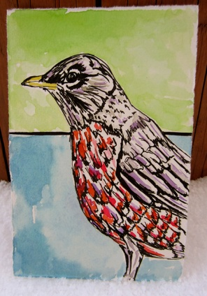 Day 179 (10/24/12): Robin Come Winter