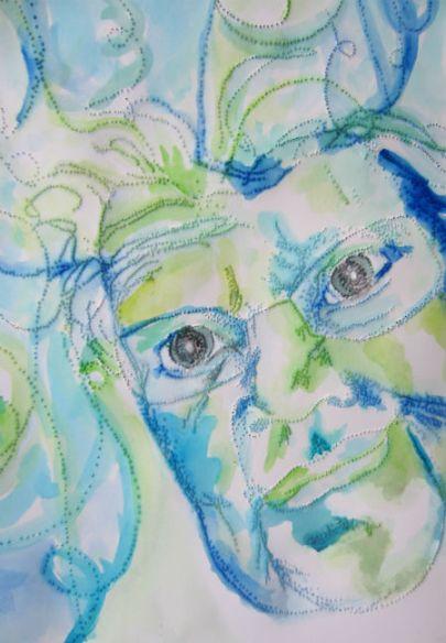 Day 269 Pinhole Portrait Color Detail