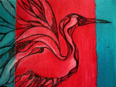 Day 272 Crane Plume Detail