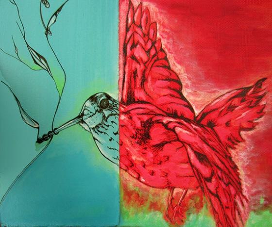 Day 320 Woodchuck's Dilemma bird detail