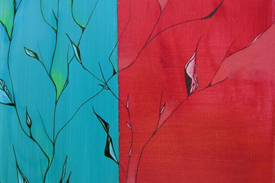 Day 320 Woodchuck's Dilemma foliage