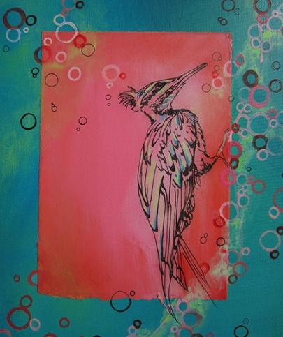 Day 331 Like Bubbles to a Bird Who Pecks Bird