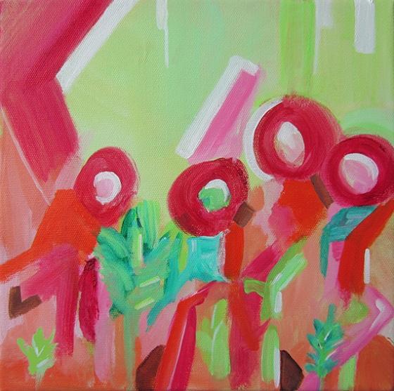 """Day 361, 10 x 10"""" acrylic on canvas"""