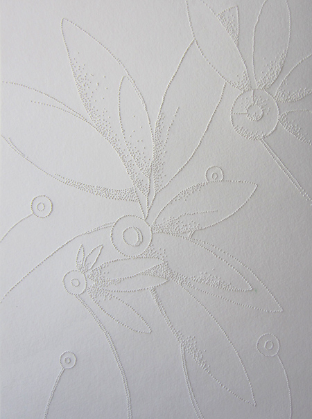 Original pierced paper image