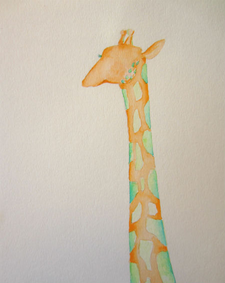 micahs giraffe head