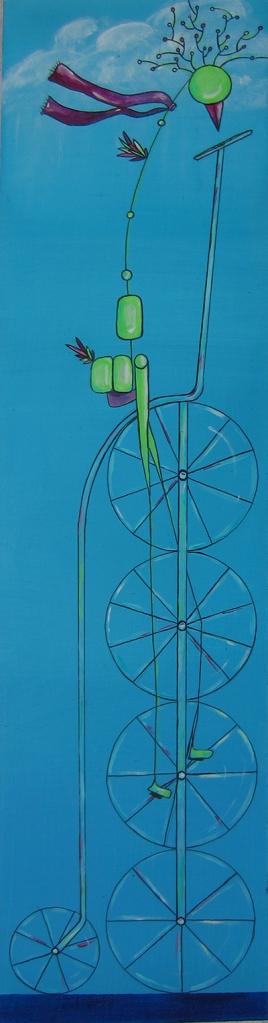 Bird on Bike AGain