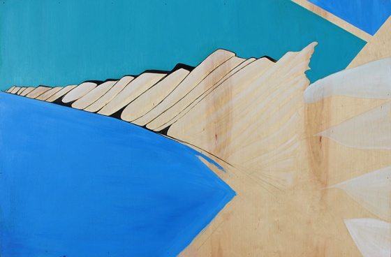 Mountain Range in Blues 3