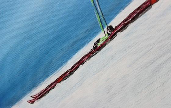 Ski Detail